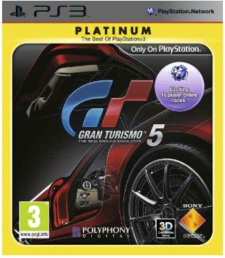 PS3 Game: Gran Tourismo 5 Platinum inkl. Versand nur 14,10€