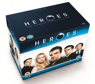[Amazon] Heroes: The Complete Collection mit den Staffeln 1 bis 4 [englisch, Blu ray] für nur 21,67€ inkl. Versand