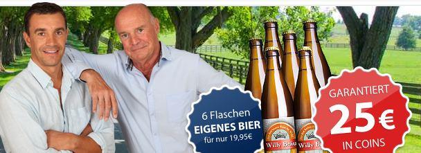 [hier gibts was geschenkt.de] Hot! 6Flaschen Bier mit Euren Namen kostenlos. Schnell sein!
