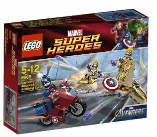 [thehut] LEGO Super Heroes: Captain Americas Rache, inkl. Versand 16,99€ (Vergleich 31€)