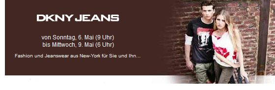 [Vente Privee] Heute 09:00Uhr: DKNY Jeans / Fashion Aktion!