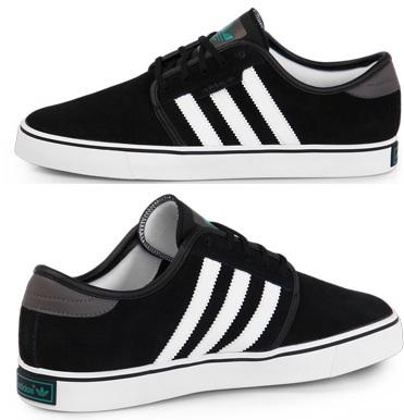[Nur bis 0Uhr!] adidas Originals Seeley black nur 42€ (zzgl. Versand) statt im Preisvergleich 57€