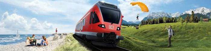 [Bahn] 1 Monat lang unbegrenzt durch Deutschland fahren ab 99€!
