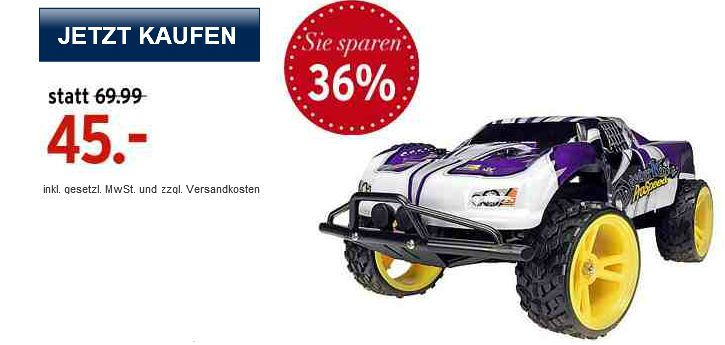 [Karstadt Liveshopping] Funk gesteuertes Fun Car: Dickie Desert King RTR inkl. Versand 45,45€