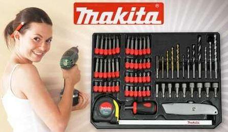 [Groupon] Makita 67 Teile Set: für Bohrmaschinen und Akku Schrauber inkl. Versand 12,99€