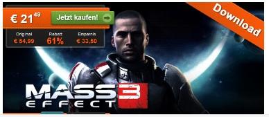 [HitFox] Mass Effect 3 Downloadversion für PC nur 21,49€