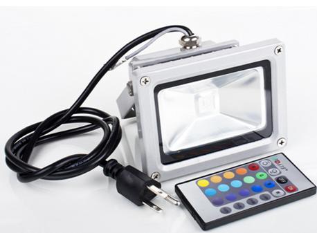 [Gadget Tipp!] Wasserfester LED Flutlichtstraher mit Farbwechsel + Fernbedienung! Bis zu 1000 Lumen nur ~19€ inkl. Versand