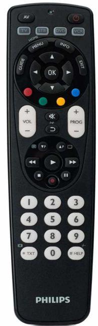 [Amazon] 4 in 1 Universal Fernbedienung: Philips SRP 4004, inkl. Versand nur 9,50€
