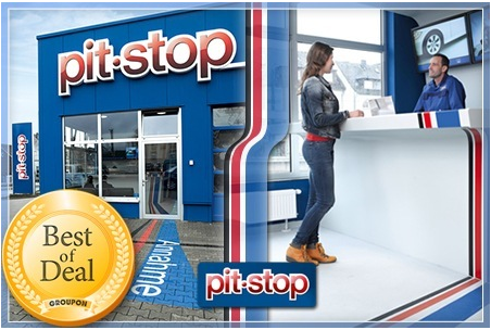 [Groupon] PKW Ölwechsel bei pit stop für 19€ statt 39€