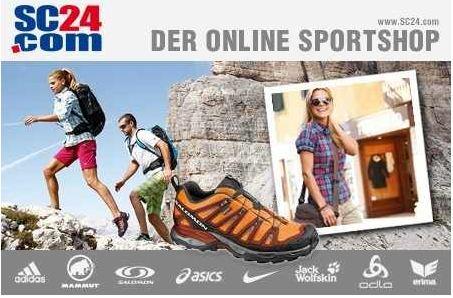 [Groupon] 60€ Gutschein für SC24.de 25€ für Sportartikel von Nike, Puma, Asics und andere.