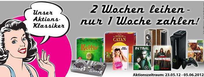 [verleihshop.de] 2 Wochen ausleihen, eine Woche zahlen!