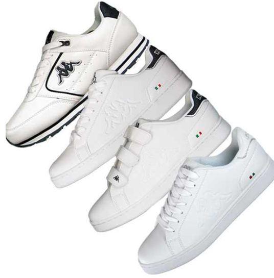 [ebay] Herren Sneaker: Kappa 4 Modelle in weiß (Gr. 40 47) inkl. Versand 22,99€