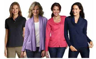 [ebay Wow] LANDS´END: Damen Poloshirt, Jersey Shirt und Cardigan in 22 Farben inkl. Versand 12,95€