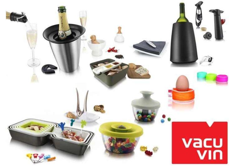 [ebay Wow] Wieder da! 4 Sets Vacu Vin Geschenkboxen: Wein, Sekt & Champagner, Party, Tapas inkl. Versand je 14,99€