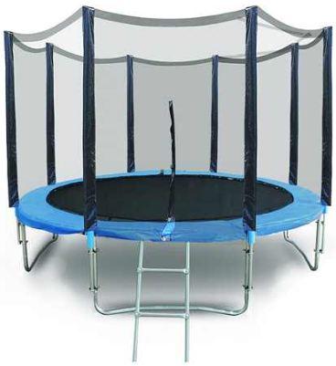 [ebay] XXL Gartentrampolin: 4,30m Ø inkl. Randabdeckung, Netz und Leiter und inkl. Versand 189€
