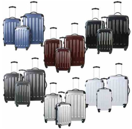 [ebay Wow] 3 tlg. Hartschalenkofferset: in 6 verschiedenen Farben inkl. Versand je 79,95€