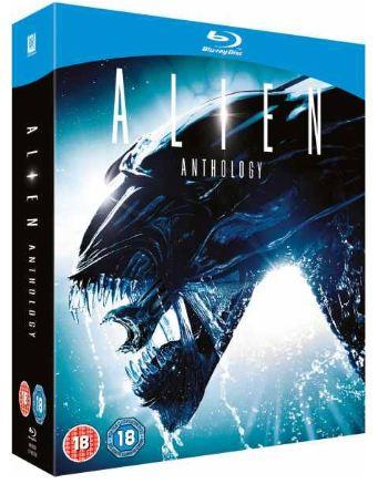 [zavvi] Wieder da! Blu Ray: Alien Anthology (4 Discs inkl. dt. Tonspur!) für inkl. Versand nur 15,45€