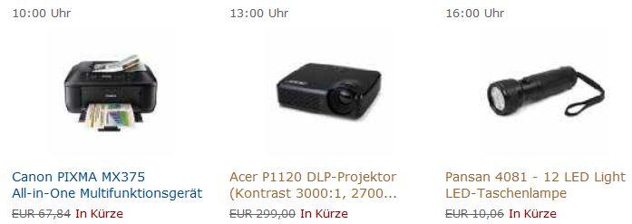[Amazon Blitzangebote] Heute ab 10:00Uhr: All in one Drucker, Beamer und Taschenlampe!