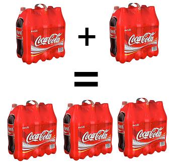 "[Coca Cola] ""kauf 3 – zahl 2″ Aktion am Samstag, 9. Juni"
