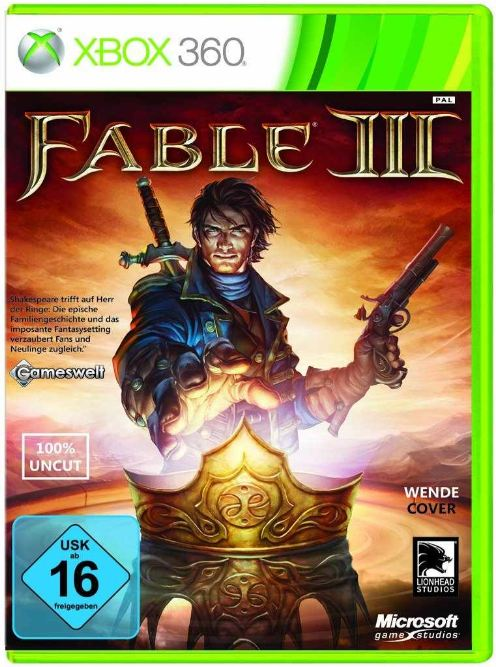 [Amazon] Xbox Game: Fable III (uncut) 13,53€