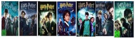 [ebay] Harry Potter Teil 1+2+3+4+5+6+7.1 (7DVDs) inkl. Versand 33,93€