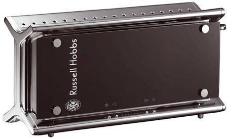 Designer Schnäppchen: Russell Hobbs Black Glass Line Toaster für 39€ (Preisvergleich 69€)