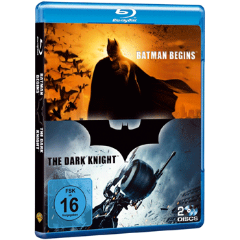 [Amazon] Blu rays: The Dark Knight & Batman Begins für 9,99€ inkl. Versand