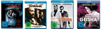 Über 100 reduzierte Blu Rays für je 7,97€ inkl. Versand