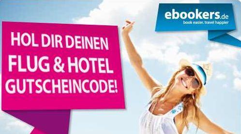 [ebookers] Facebook Aktion: ebookers verschenkt 60€ Reisegutschein!