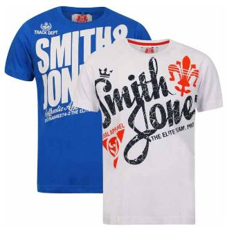 [thehut] 2er Pack Smith & Jones: T Shirts ab 12,99€ inkl. Versand
