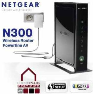 [iBOOD] Wireless Router mit Powerline: NETGEAR N300 inkl. Versand nur 35,90€