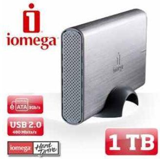 [iBOOD] externe Festplatte: 1 TB Iomega eSATA mit 3 Gbit und USB 2.0  inkl. Versand 65,90€