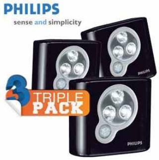 [iBOOD] Kabellose LED Leuchten: Dreierpack Philips SpotOn mit Bewegungsmelder, inkl Versand 20,95€
