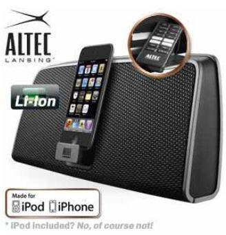 [iBOOD] iPod/Phone Dockingstation: Altec Lansing inMotion iM630 inkl. Versand 55,90€