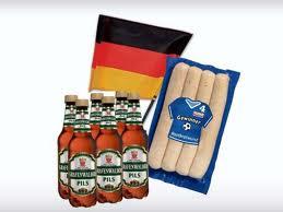 [Offline] Bei Lidl nur am Freitag: 4 Bratwürste + 6er Pack Bier + EM Autofahne nur 1,99€