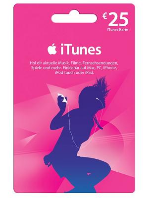 [Tipp!] 25€ iTunes Karte für 10€ dank Cashback Aktion!