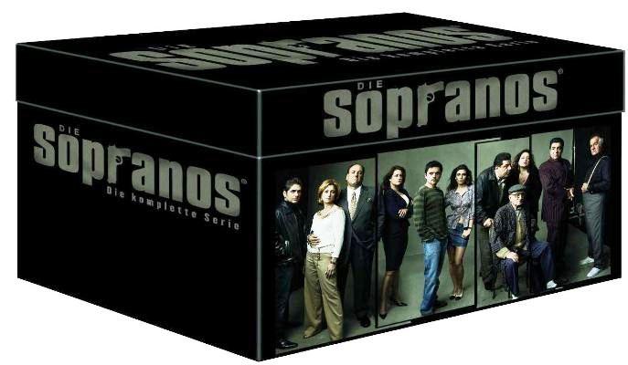 Die Sopranos   Die ultimative Mafiabox, 28 DVDs für 44,97€   wieder da!
