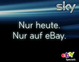 [Sky] Sky komplett für 33,90€ inkl. HD   alle Kanäle + Festplattenreceiver!