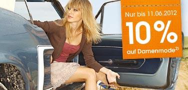 [Otto] 10% auf Damenmode oder 15,95€ Neukundengutschein + Gratisversand an Packstation