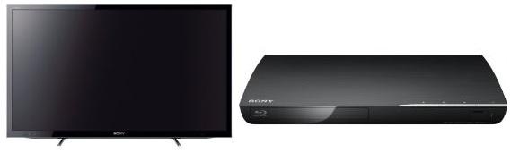Sony KDL 46HX750 46″ 3D LED Backlight TV + Sony Blu ray Player für 899,99€ inkl. Lieferung (Preisvergleich 1217€)