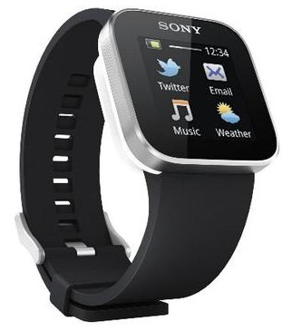 Sony Smart Watch schwarz (Android Bluetooth) für 75€