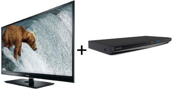 Toshiba 42WL863G 42″ 3D Fernseher + Toshiba 3D Blu ray Player für 699,99€ inkl. Lieferung (Preisvergleich 854€)