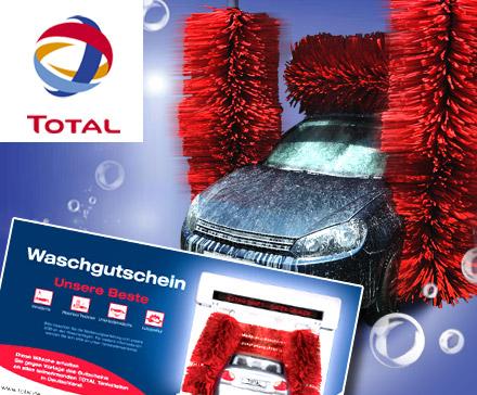 [Groupon] Autowäsche von TOTAL Unsere Beste für 7€ (statt: 13,50€)