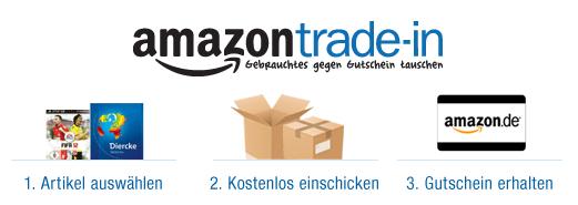 [Amazon] Trade In: 5€ Gutschein für Erstnutzer
