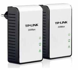 [ebay Wow] Powerline Starter Kit : TP Link AV200 (2 Adapter) 200Mbit inkl. Versand 29,99€