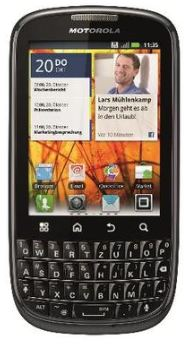 [real, ] Update! Android 2.3 Smartphone: Motorola Pro+ 5MP Cam 99,95€