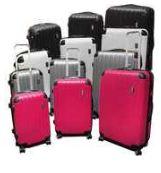 [ebay Wow] 3 tlg. Kofferset: Trolley Set, ABS Kunststoff, 8 verschiedene Farben, TSA Schloß, inkl. Versand 79,99€