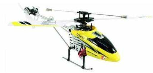 [Dealmachine] Ab 12Uhr: Nur 15 Stück RC Helicopter McTrack Turbo Sun 39cm, Gyro, Einzelrotor inkl. Versand 69€
