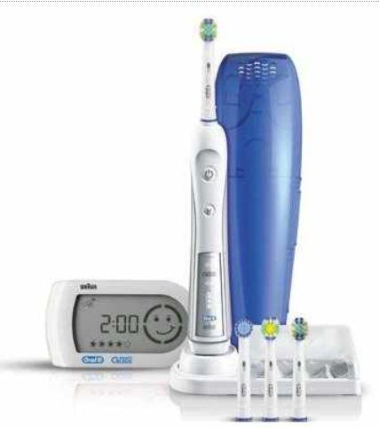 [getgoods] elektrische Zahnbürste: Braun Oral B Triumph 5000 mit Smart Guide inkl. Versand 72,77€