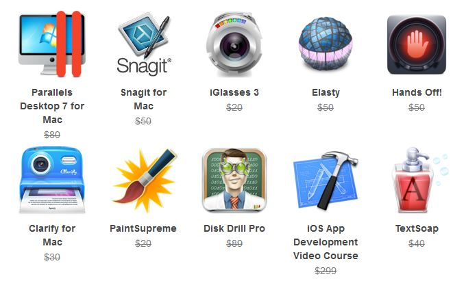 [stacksocial] Mac SuperBundle: feat. Parallels Desktop7  40,78€ ($49,99)